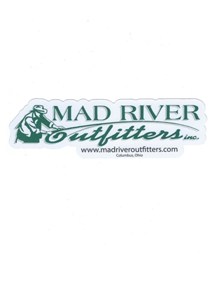 Mad River Outfitters Logo Sticker mad river outfitters logo merchandise
