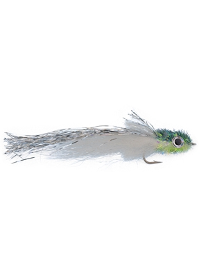 Murdich Minnow streamer gray flies for peacock bass