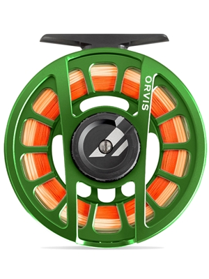 Orvis Hydros Fly Reel matte green New Fly Reels at Mad River Outfitters