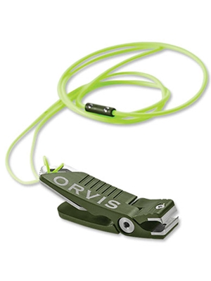 Orvis Nipper moss fly fishing nippers