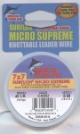 Micro Supreme Fishing Wire Saltwater Tippet  and  Leaders