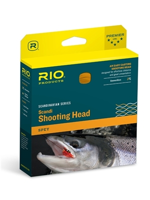 rio scandi shooting head fly line spey switch fly fishing