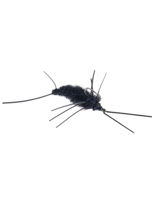 Blaine Chocklett's Rubber Legs Game Changer- black Discount Fly Fishing Flies at Mad River Outfitters