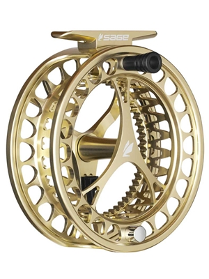 sage click fly reels champagne Sage Fly Fishing Reels