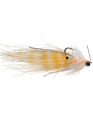 Shrimp Tease Fly- cream flies for bonefish and permit