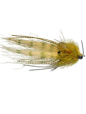 Shrimp Tease Fly- olive flies for bonefish and permit