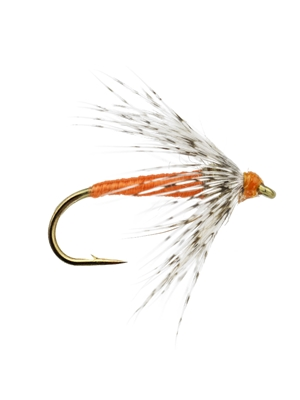 standard soft hackle fly orange