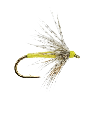 standard soft hackle fly yellow