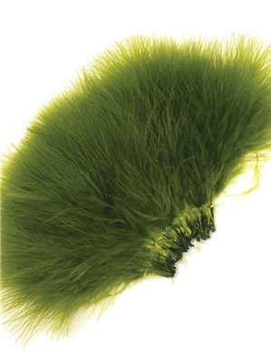 strung marabou Tube Fly Materials