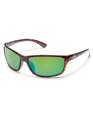 suncloud sentry sunglasses green mirror