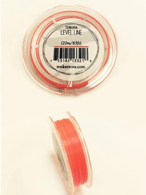 Tenkara Level Line #4.5 orange Tenkara Lines