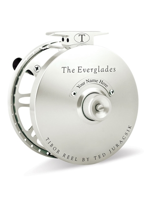 tibor everglades fly reel frost silver Tibor Fly Fishing Reels
