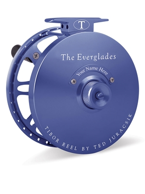 tibor everglades fly reel royal blue Tibor Fly Fishing Reels