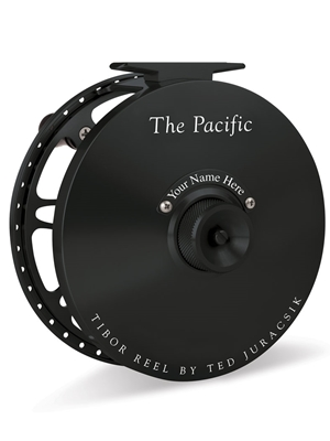 tibor pacific fly reel frost black Tibor Fly Fishing Reels