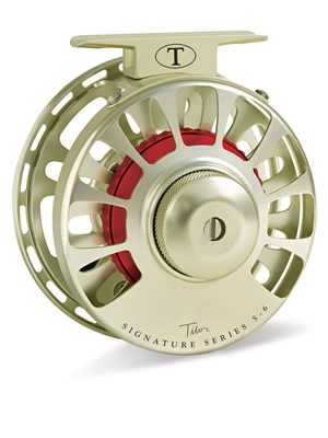 tibor signature 5/6 fly reel gold Tibor Fly Fishing Reels