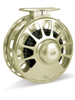tibor signature 7/8 fly reel gold Tibor Fly Fishing Reels