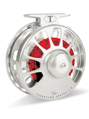 tibor signature 7/8 fly reel silver frost Tibor Fly Fishing Reels