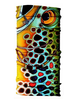 uv buff deyoung brown trout mosquito