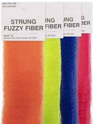 Wapsi Strung Fuzzy Fiber at Mad River Outfitters Streamer Brushes