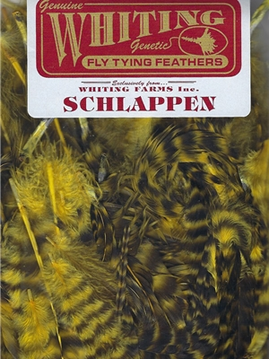 Whiting Farms Grizzly Schlappen Loose 1/4 ounce packs