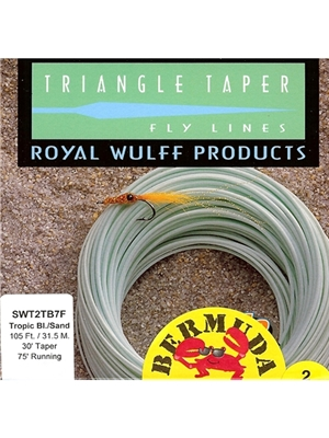 wulff bermuda triangle taper fly line