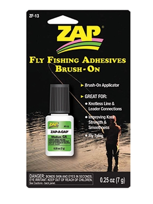 zap a gap brush on fly line cleaners and accessories