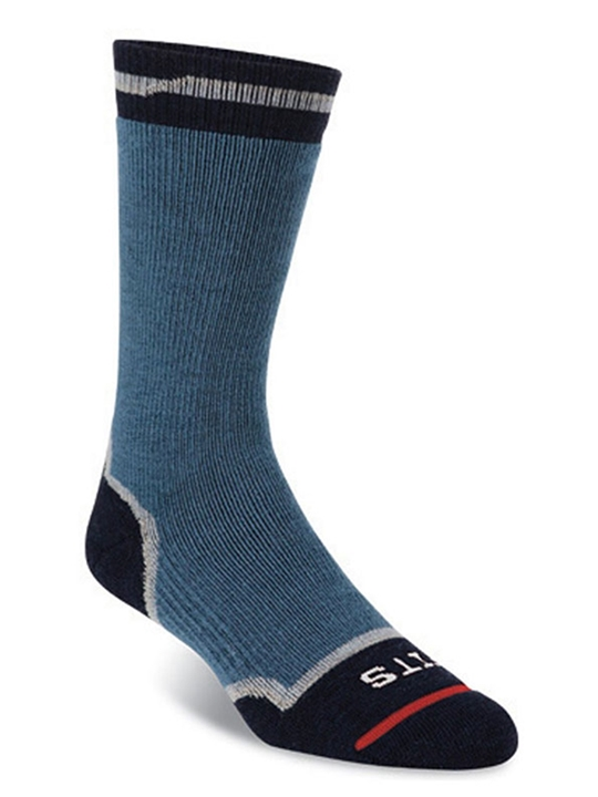 fits socks men's medium hiker indian teal