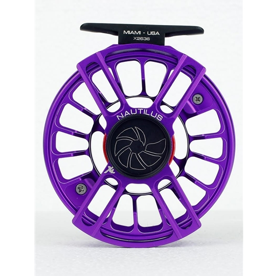 nautilus xl max fly reel violet