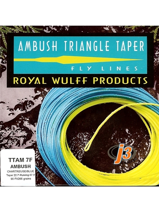royal wulff ambush taper fly line