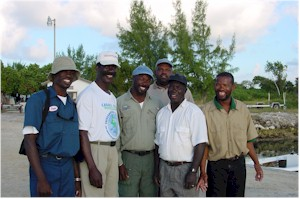 Great guide staff at the Andros Island Bonefish Club