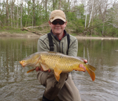 fly fishing guides for carp in ohio