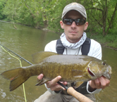 fly fishing guides for smallmouth in ohio