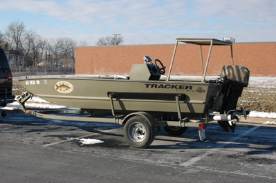 Ohio's only carpin' boat!
