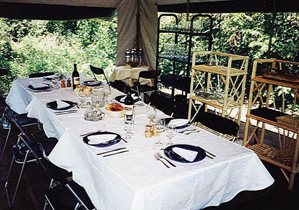 Fine dining in the Amazon!